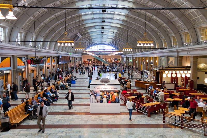 Sekretne pomieszczenie na sztokholmskiej stacji kolejowej