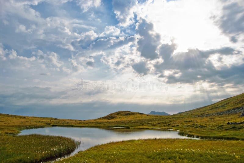 Rodnei mountain lake