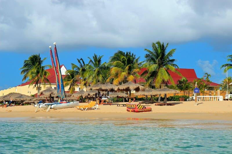 Rodney Bay, St Lucia lizenzfreies stockfoto