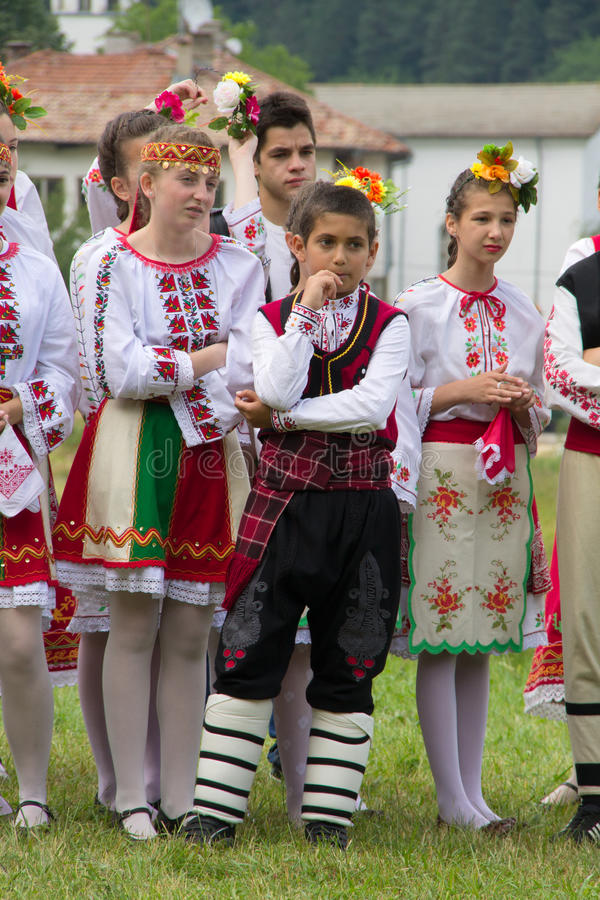Rodops Folklor imagem de stock