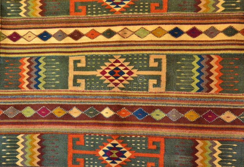 RODOWITEGO AMERYKANINA RĘCZNIE ROBIONY WYPLATAJĄCY dywanik obraz royalty free