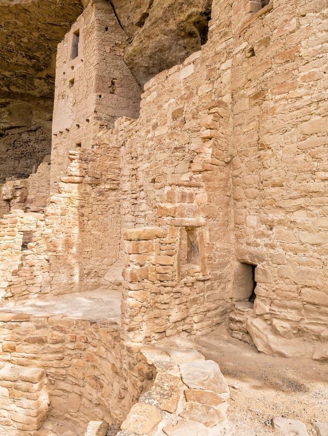Rodowity Amerykanin ruiny, szczegóły obraz royalty free