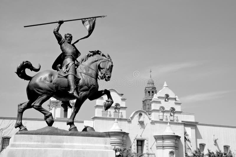 Rodrigo Diaz De Vivar statua (El Cid) zdjęcie stock