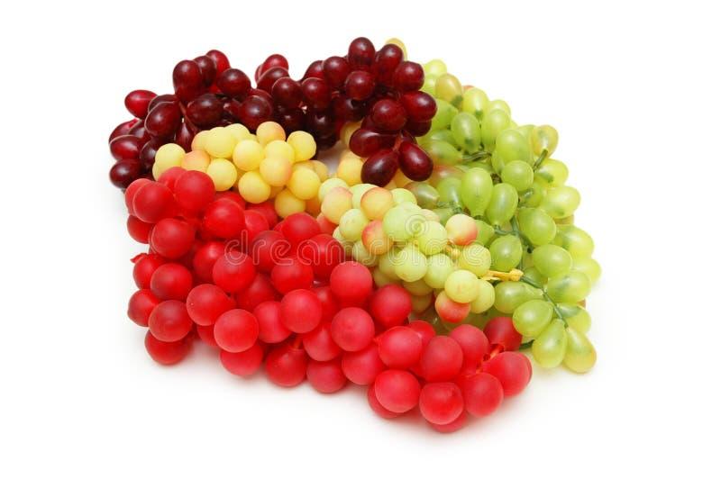 rodzaje różnych winogron zdjęcie stock