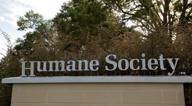 Rodzajowy Humanitarny społeczeństwo znak zdjęcie stock