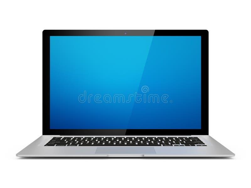 rodzajowy laptop ilustracji