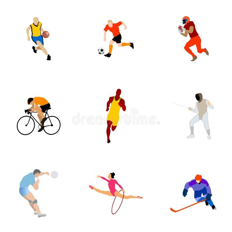 rodzaju inkasowy sport royalty ilustracja