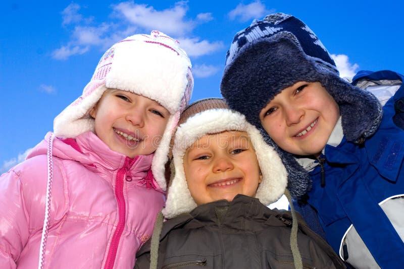 rodzeństwo zimy. obrazy royalty free