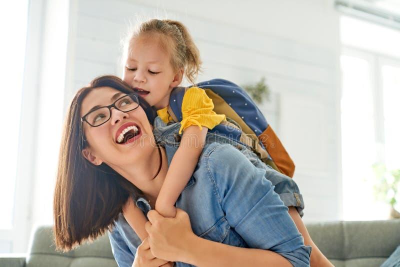 Rodzic i uczeń preschool zdjęcie stock