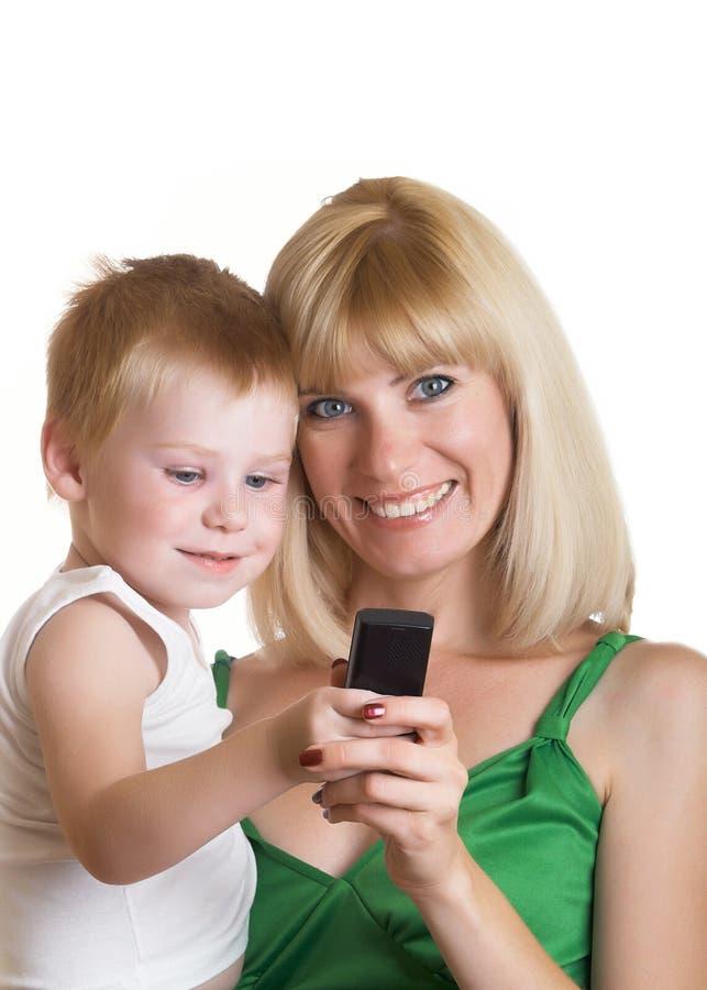 Download Rodzina zdjęcie stock. Obraz złożonej z chłopiec, potomstwa - 13338830