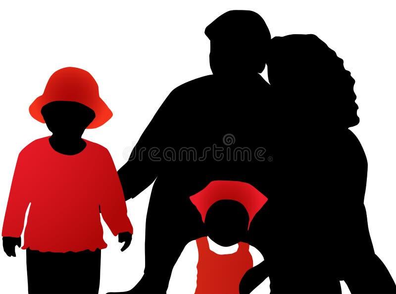 Rodzina Bezpłatna Fotografia Stock