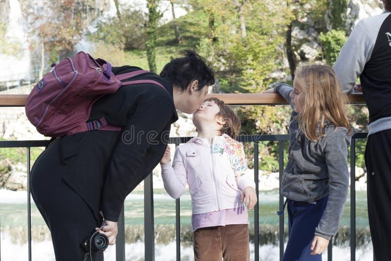 Rodzina, być szczęśliwy wpólnie obraz royalty free