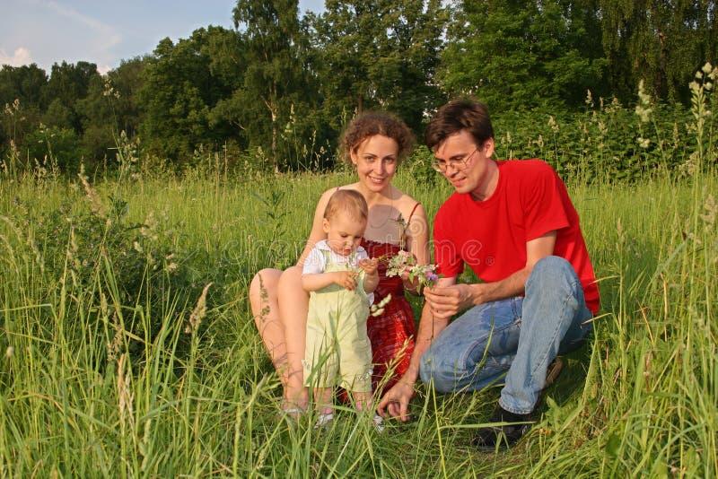 rodzina, dzieci fotografia royalty free