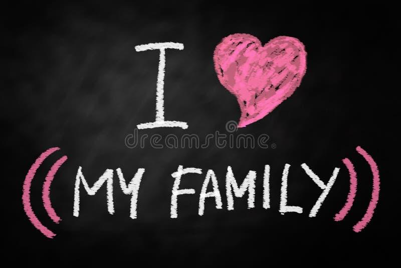 rodzina ja kocham mój