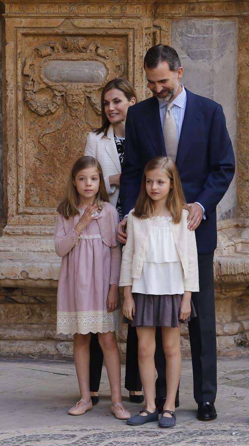 Rodzina królewska 023 zdjęcia royalty free