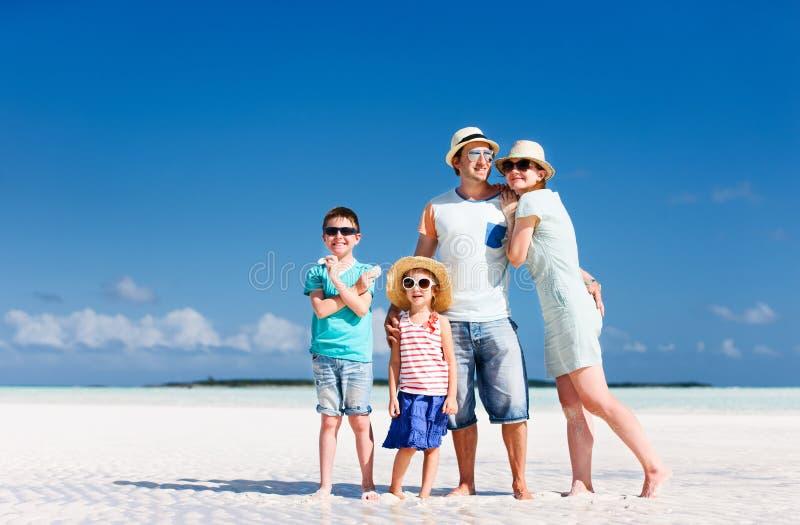Rodzina na wakacje obrazy stock