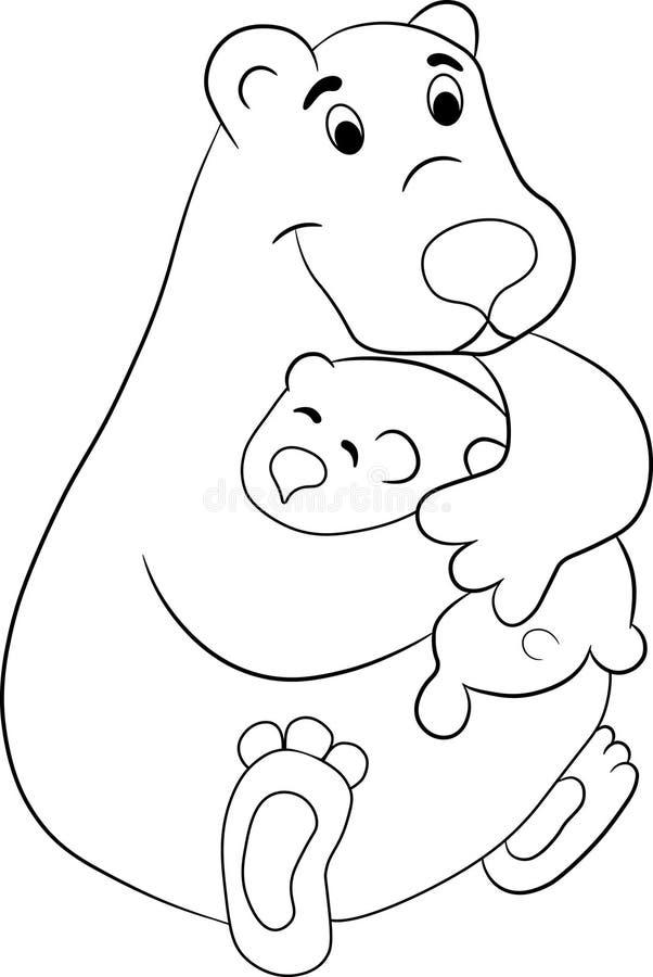 rodzina niedźwiedzi obraz royalty free