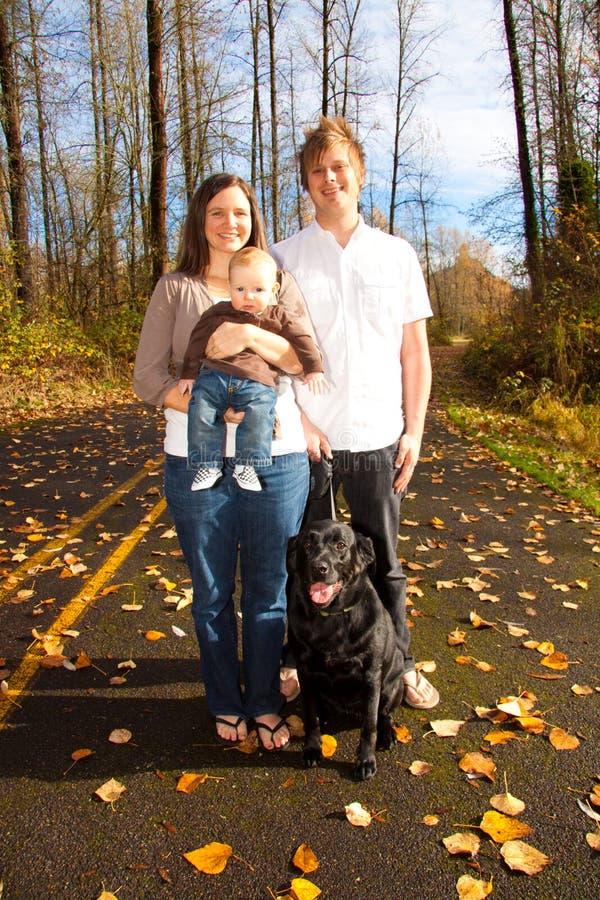 rodzina nowożytna fotografia stock