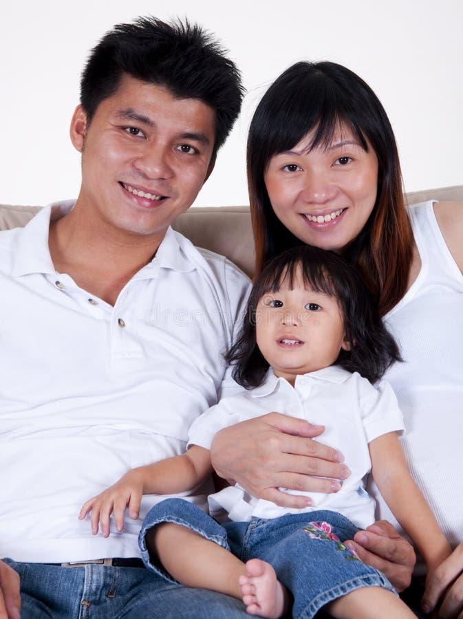 rodzina szczęśliwa zdjęcie stock