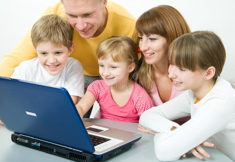 rodzina szczęśliwa zdjęcia royalty free