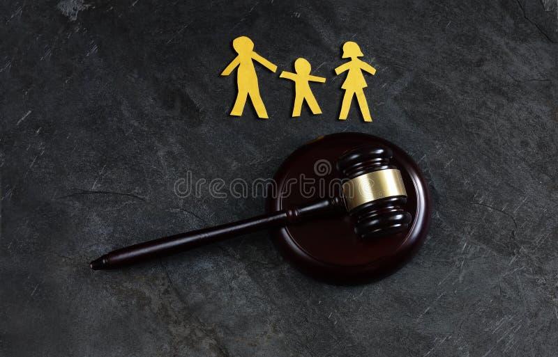 Rodzina trzy prawo obrazy royalty free