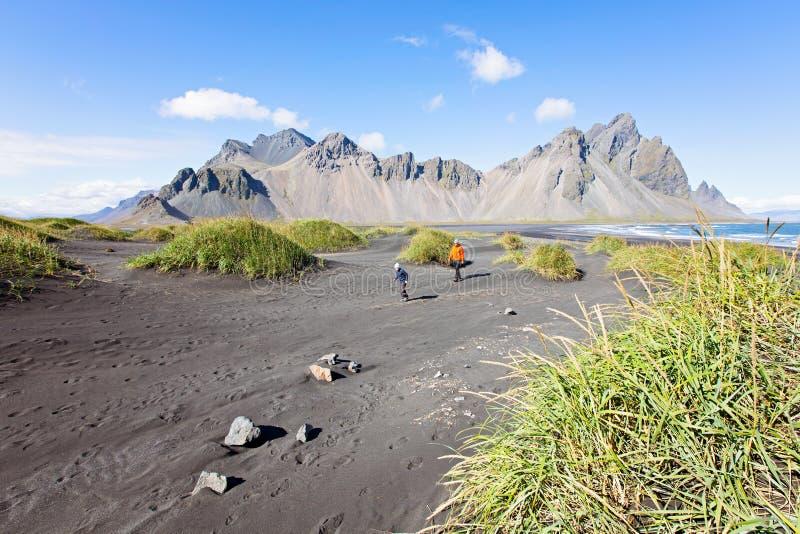 Rodzina w Iceland fotografia royalty free