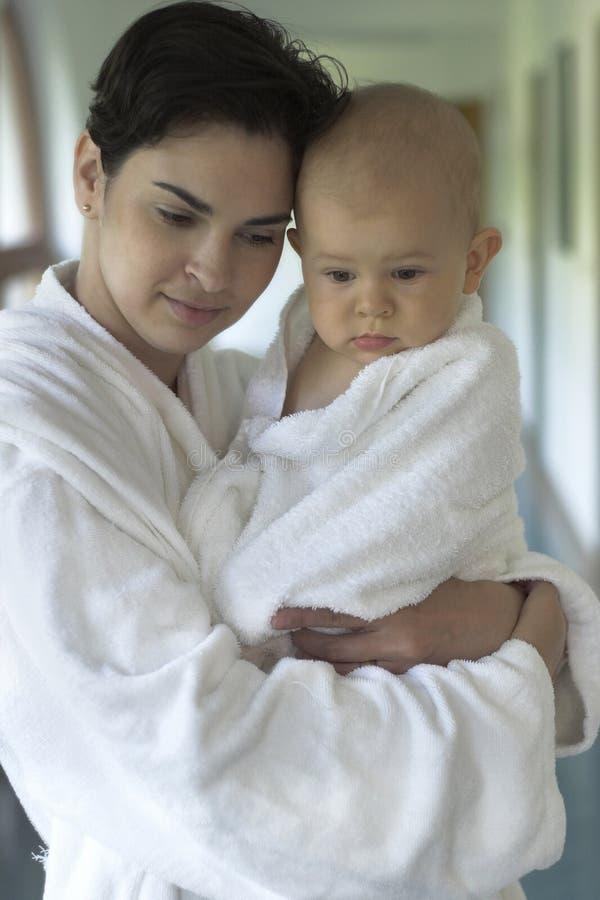 rodzina wellness fotografia royalty free