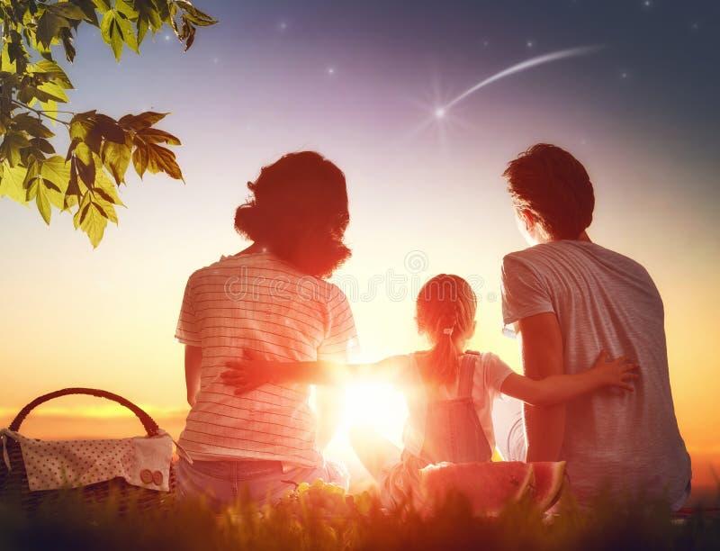 rodzina wpólnie fotografia stock