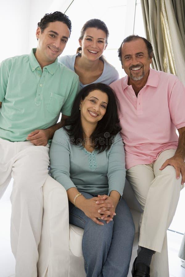 rodzina wschodniego środek zdjęcia royalty free