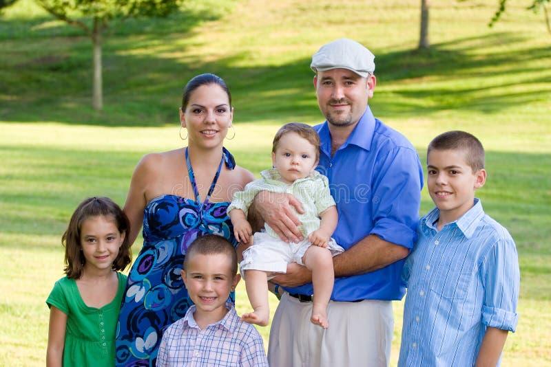 rodzinna ampuła fotografia royalty free