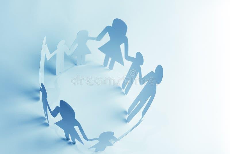 Rodzinna jedność zdjęcie royalty free