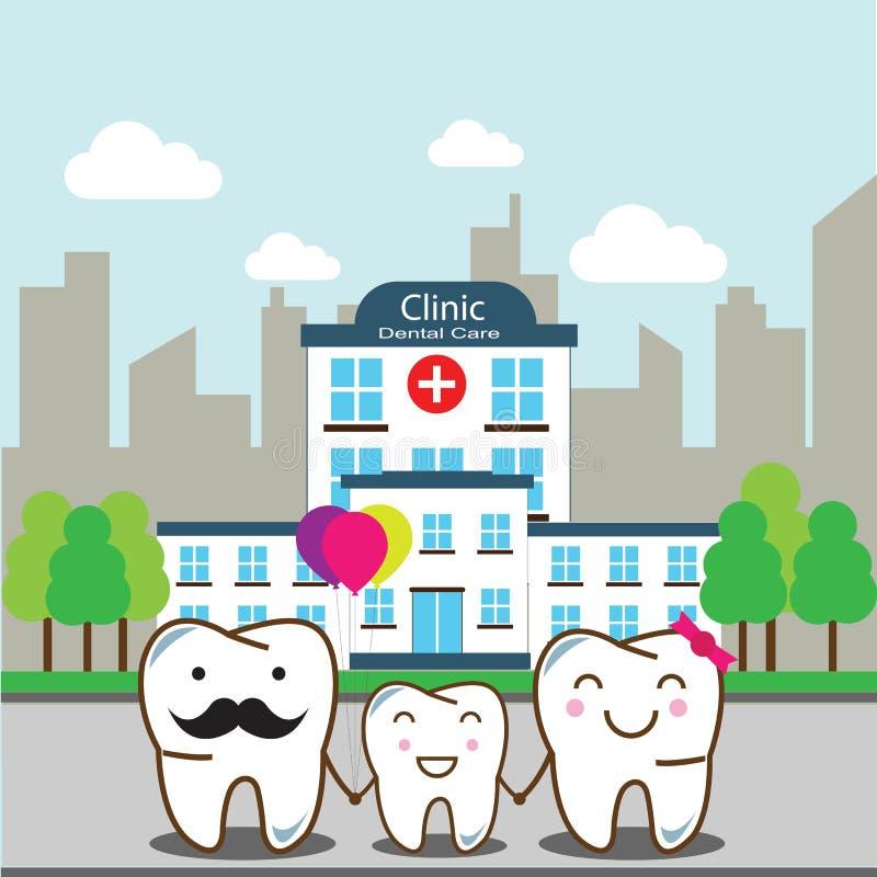 Rodzinna stomatologiczna opieka obrazy royalty free