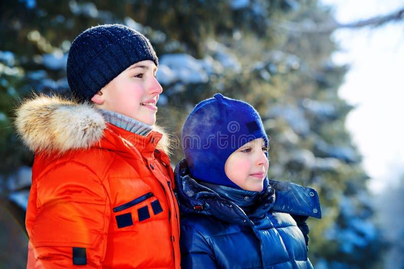 rodzinna szczęśliwa zima fotografia stock
