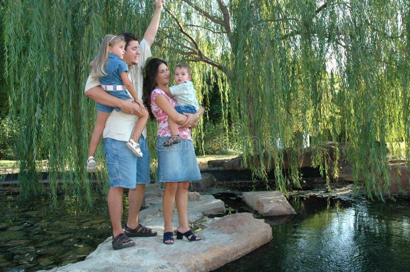 rodzinna zabawa zdjęcia royalty free