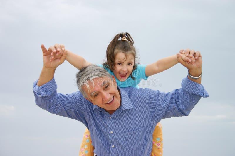 rodzinna zabawa obraz royalty free