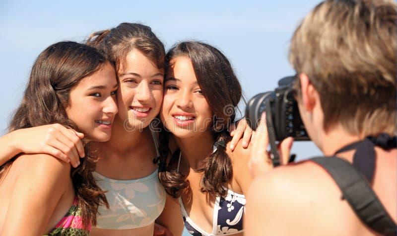 rodzinne wakacje obraz stock