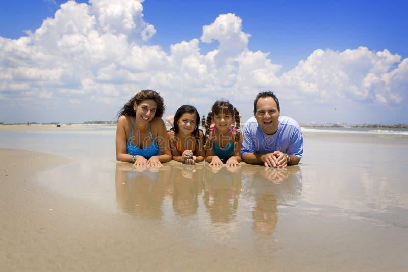 rodzinne wakacje obraz royalty free
