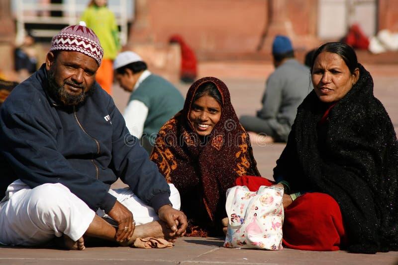 rodzinni muslim obraz royalty free