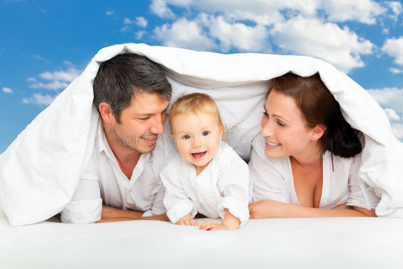 Rodzinni sen obraz royalty free