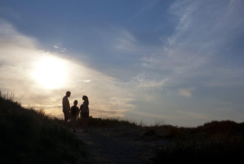 Rodzinni wakacje Dani obrazy stock