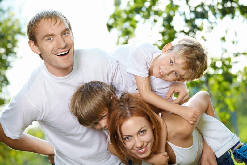 rodzinny czas wolny obraz royalty free