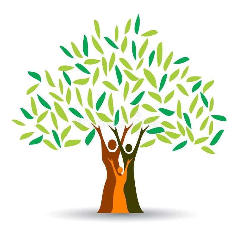 rodzinny drzewo royalty ilustracja