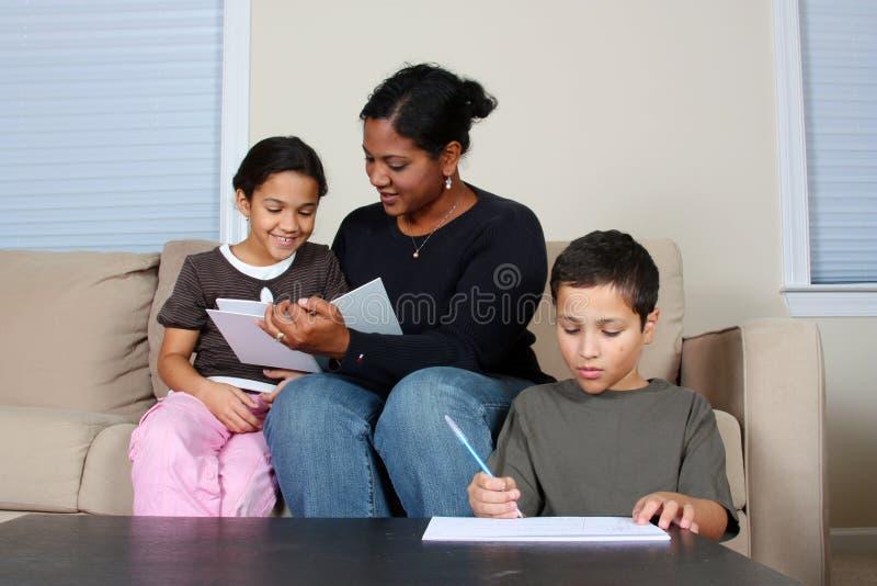 rodzinny działanie zdjęcia stock