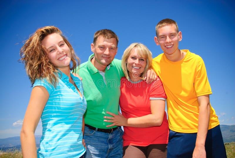 rodzinny lato obrazy stock