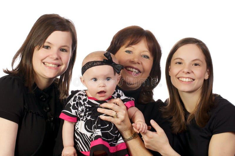 rodzinny pokolenie trzy obraz stock