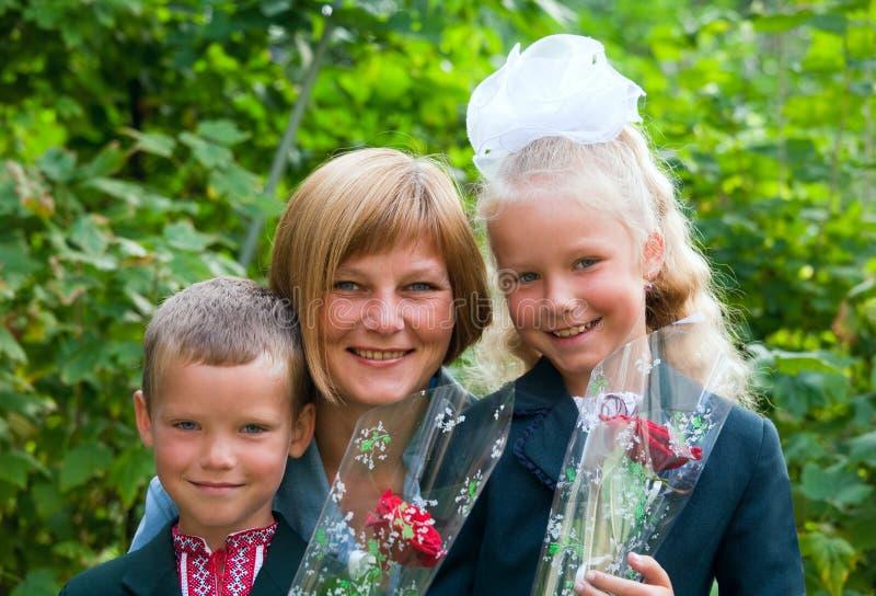 rodzinny portret fotografia royalty free