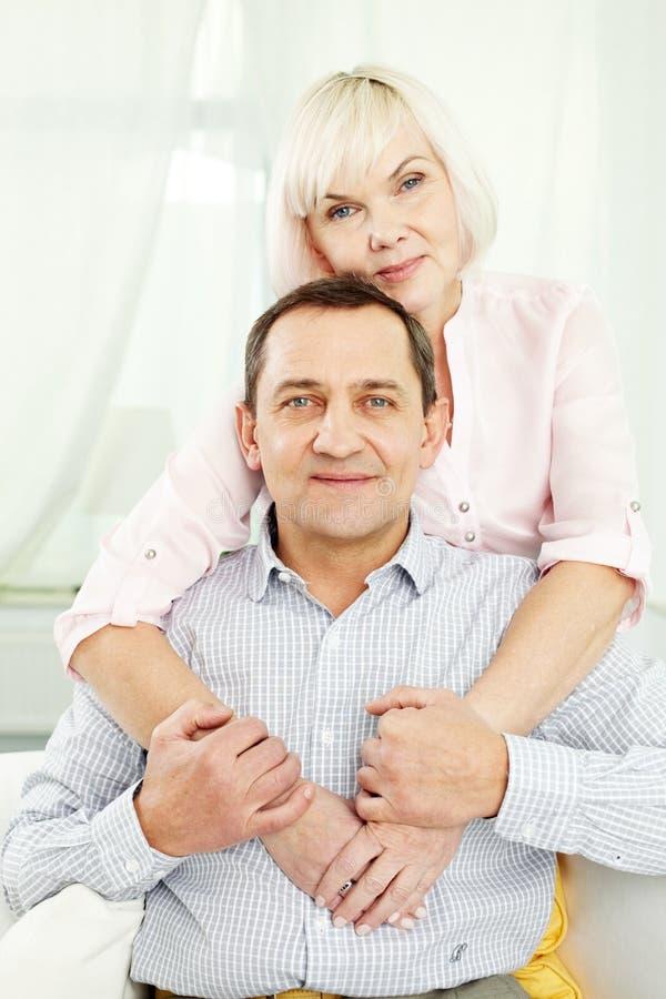 rodzinny senior zdjęcia royalty free