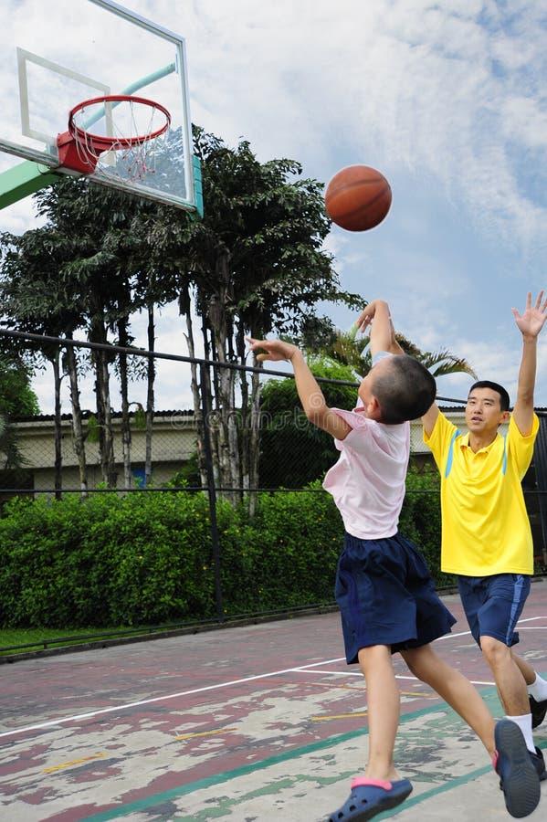 rodzinny sport fotografia royalty free
