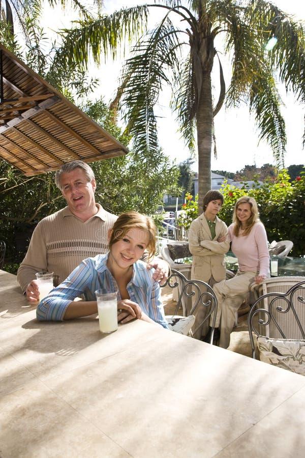 rodzinny wakacje zdjęcia royalty free