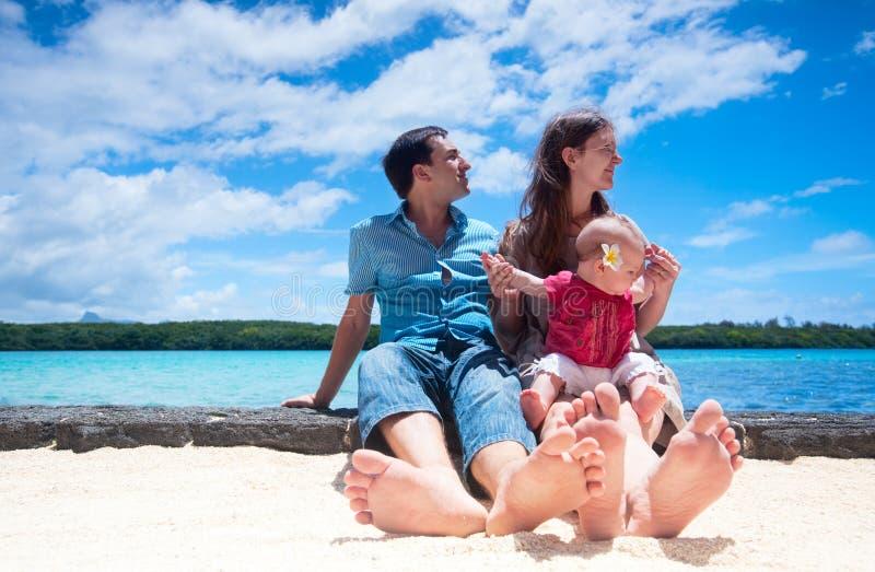 rodzinny wakacje obrazy royalty free